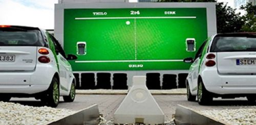 Car Ping Pong