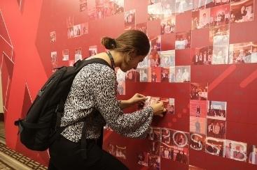 Hashtag Mosaic Wall