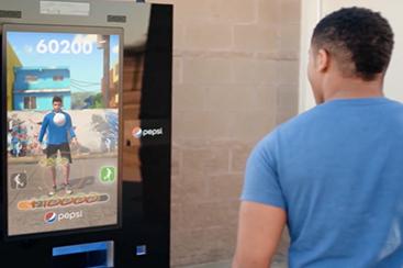 Kinect Vending Machine
