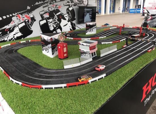 SLOT CAR WİTH BİKE