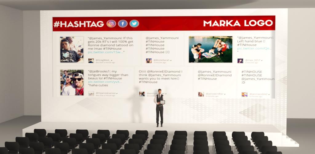 Hashtag Wall