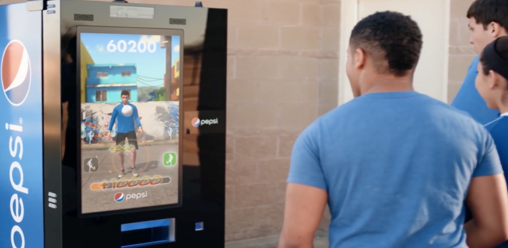 KINECT VENDING MACHINE