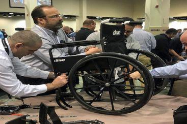 Tekerlekli Sandalye Atölyesi / TAKIM AKTİVİTESİ